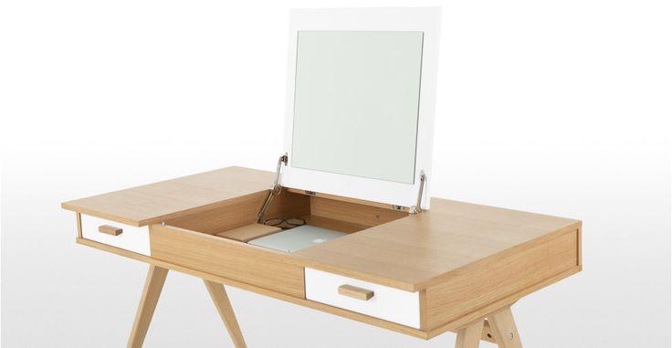 Stroller Desk in White   made.com