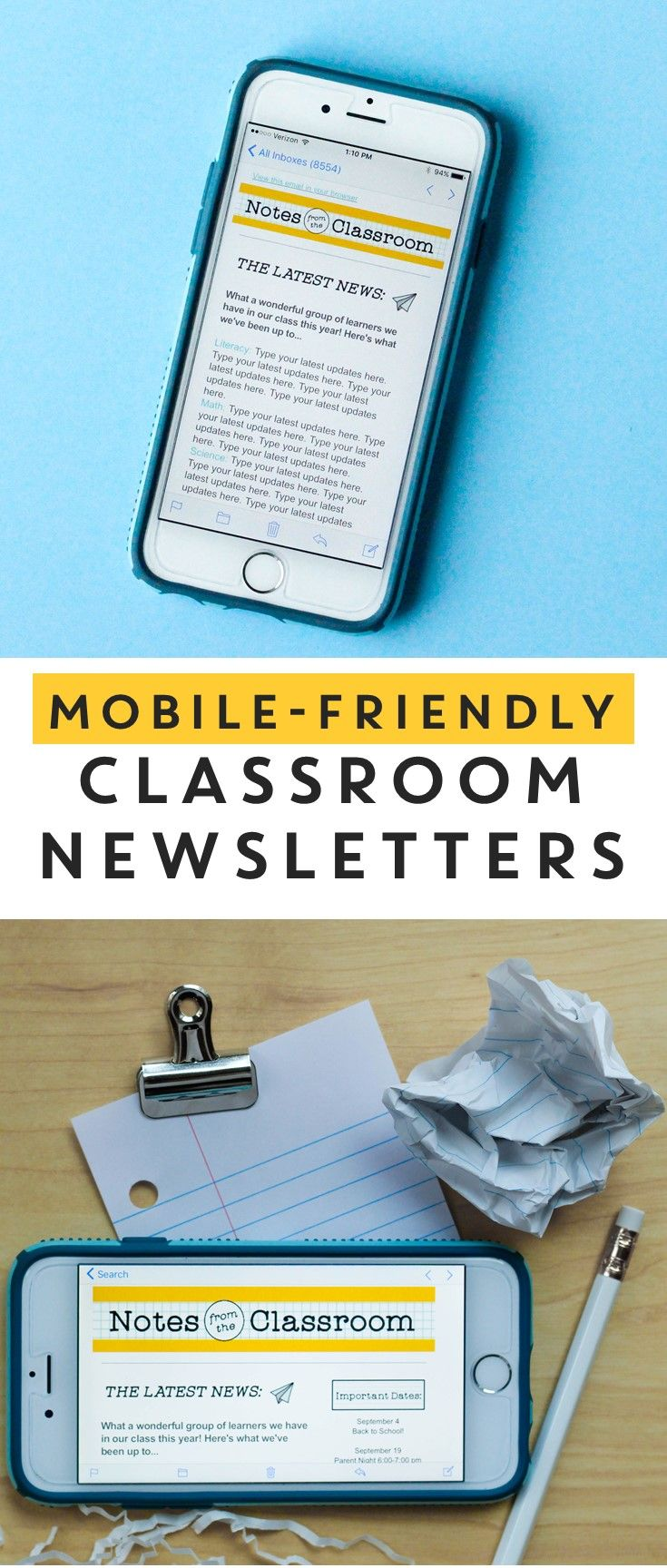 44 Best Classroom Newsletter Templates Images On Pinterest