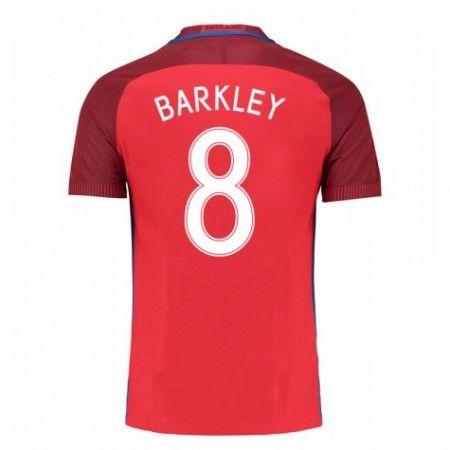 England 2016 Ross Barkley 8 Borte Drakt Kortermet.  http://www.fotballteam.com/england-2016-ross-barkley-8-borte-drakt-kortermet.  #fotballdrakter