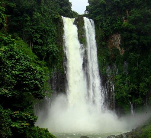 Maria Cristina Falls in Iligan City - MIndanao ...