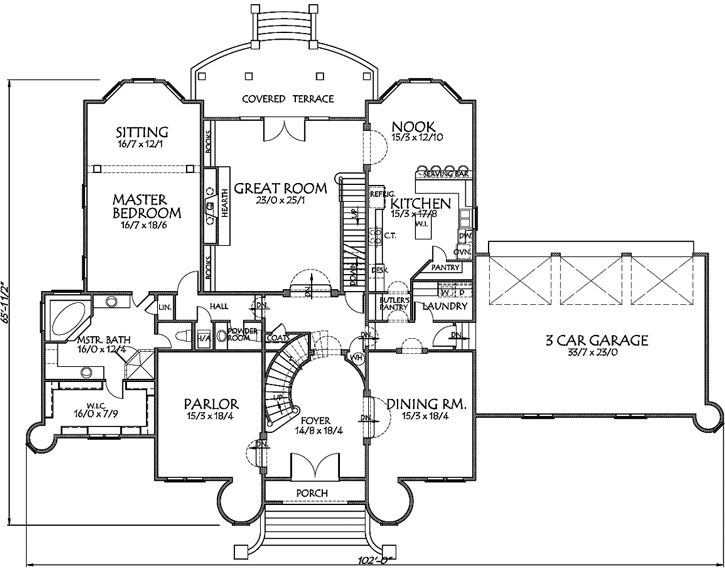 155 best luxury style house plans images on pinterest house floor
