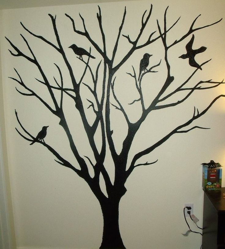 tree mural - Google Search | Mural in 2019 | Family tree