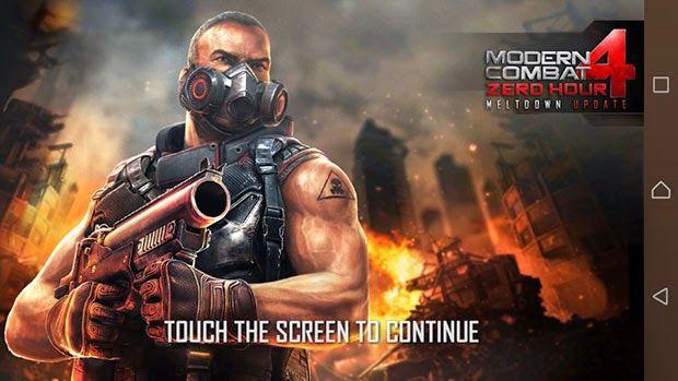 APK BARU: Modern Combat 4: Zero Hour v1.1.7c APK