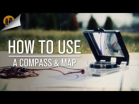 Here's A Thorough Yet Simple Explanation On How To Use A Compass And Map - The Good Survivalist