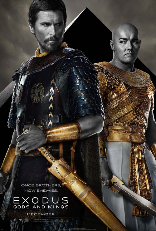 Which of these 3 posters do you like the best? Checkout the movie 'Exodus: Gods and Kings' on Christian Film Database: http://www.christianfilmdatabase.com/review/exodus/: