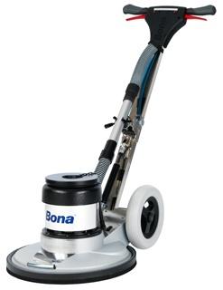 Bona FlexiSand is een multifunctionele machine die kan schuren, reinigen en de houten vloer in de olie of in de polish kan zetten.