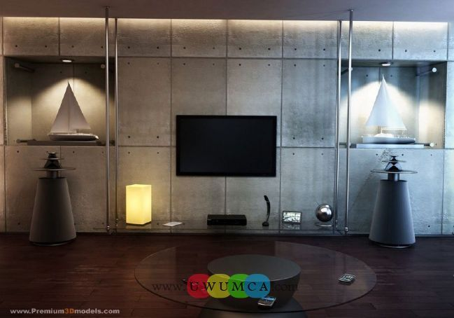 Living Room:Modern TV Wall Units 16 Decorating Brazilian Living Room And Lighting With Sofa Furniture Coffe Table Chairs Rug Design Decor For Small Spaces Ideas Luxury Living Room Decor of an Art Collector by Gisele Taranto