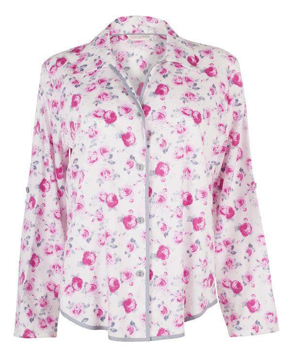 Isabel Floral Printed Pyjama Top