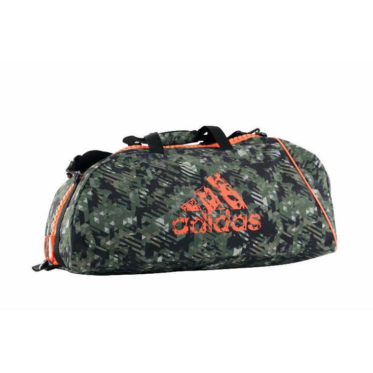 Nouveau sac de sport adidas combat Camo disponible.