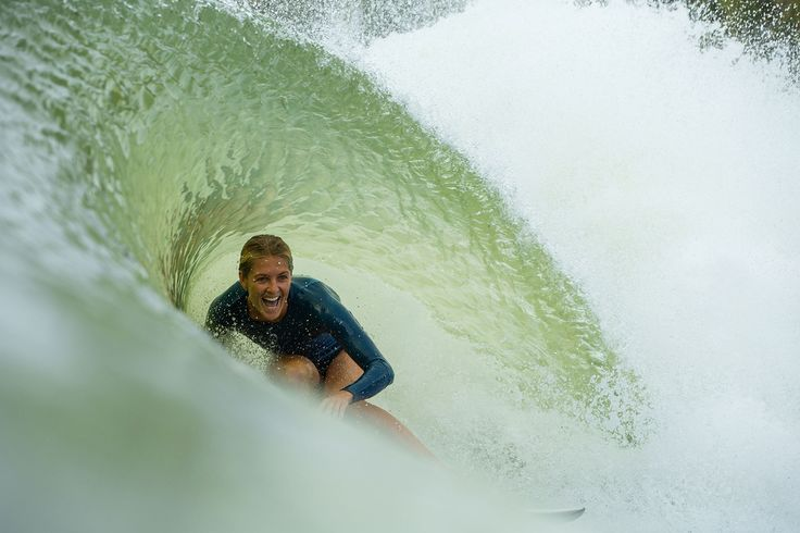 Does the sheer ideology of having a controllable wave make surfing, well – boring?