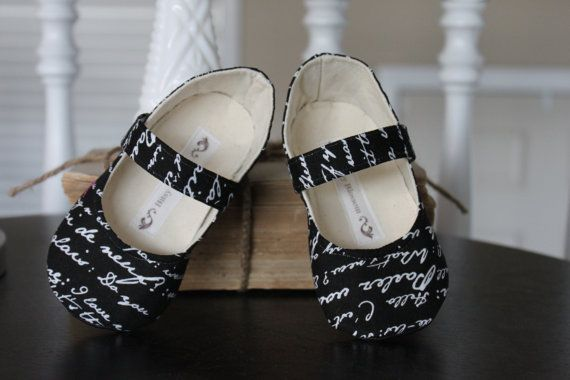 Soft Soled Baby Shoes by Bitsy Blossom