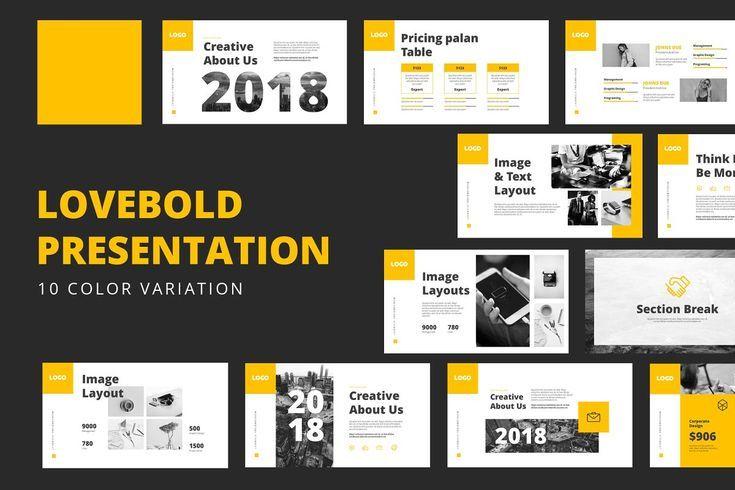 Lovebold Powerpoint Templates Presentation Design Template