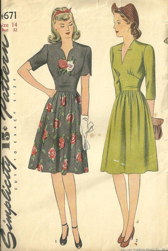 40s dress 2