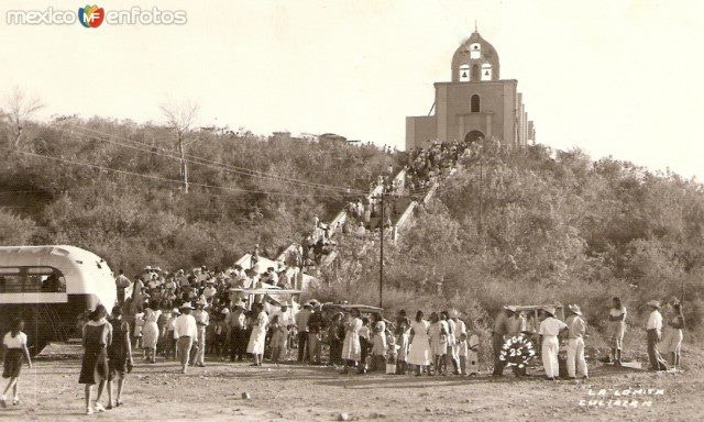La Antigua Lomita hace algunos años. Culiacán, Sinaloa, México.