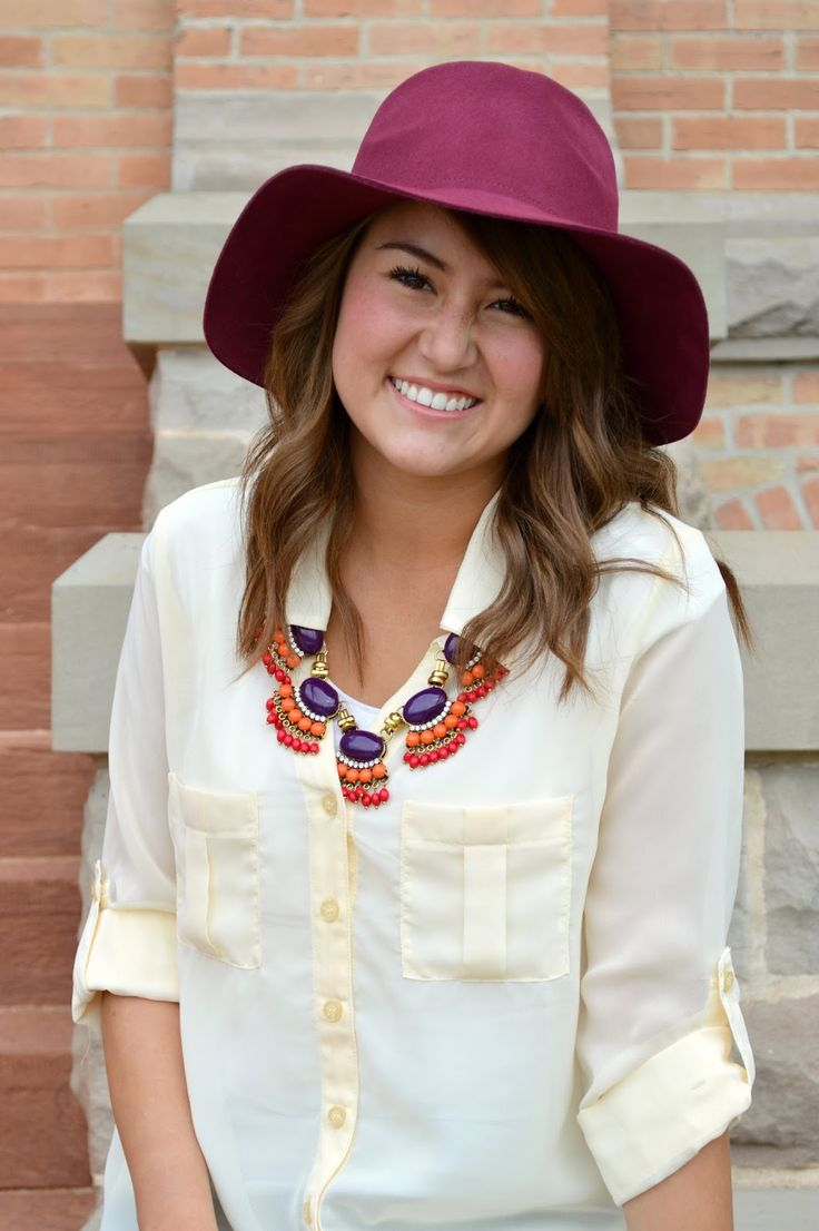 Fall Statement Necklace  I love this look :)