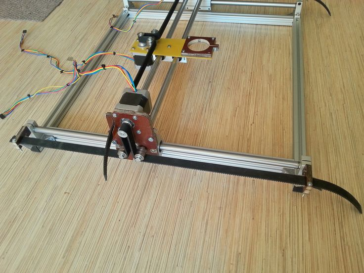 laser engraving machine - AutoCAD - 3D CAD model - GrabCAD