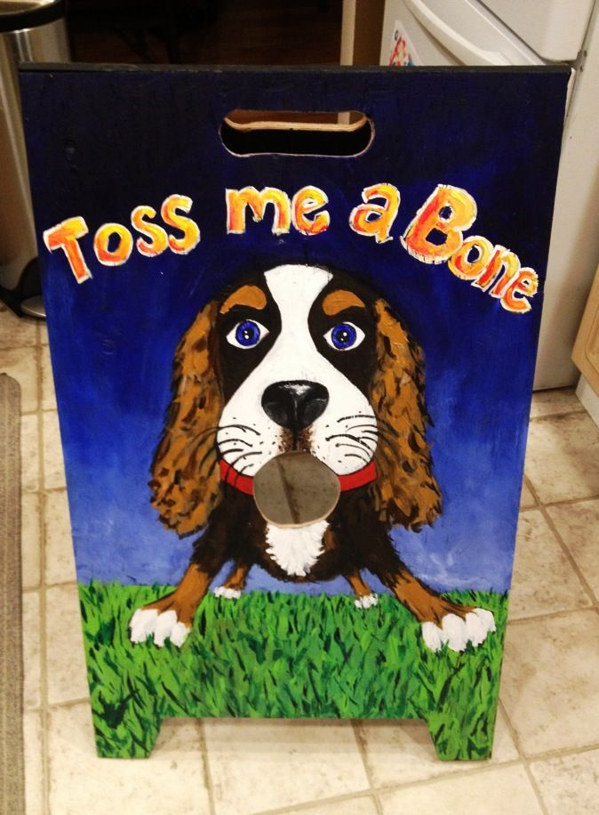 Beanbag toss - Puppy Party Game