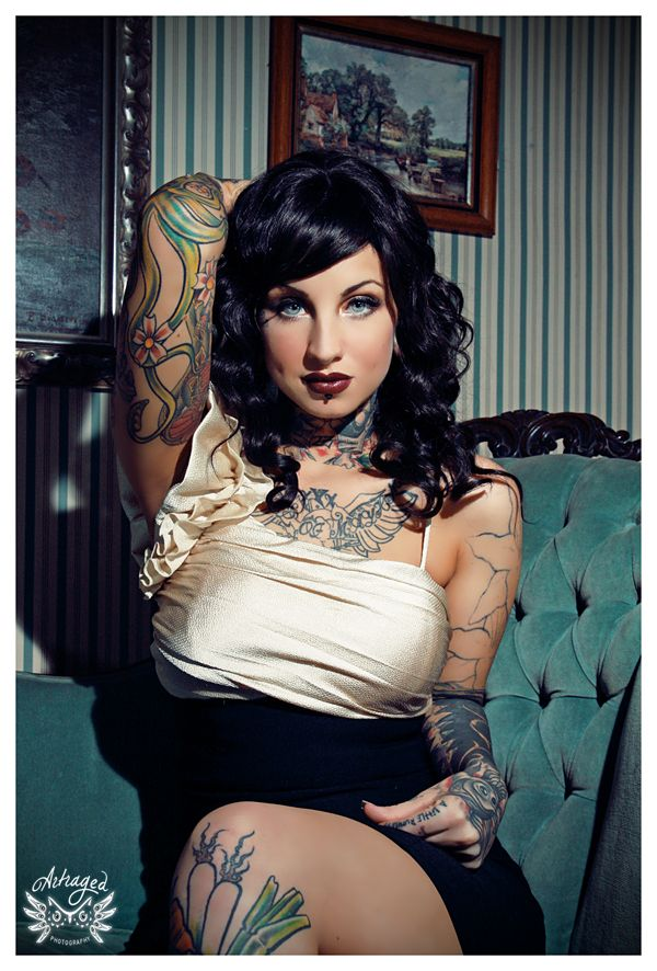 34 best images about jane queen dangerously dolly photography on pinterest miami james d - Tattooed pin up models ...
