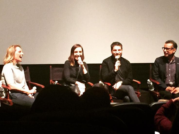 "20 Likes, 1 Comments - Frank Malfitano (@frankmalfitano) on Instagram: ""Helen Hunt moderating panel from new indie comedy BAND AID in LA Friday night…"""