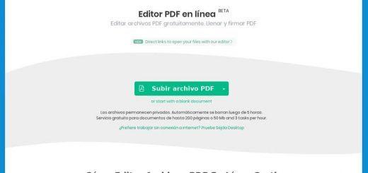 Mejor Editor Pdf Online Sejda Aplicaciones Web Apps Linux