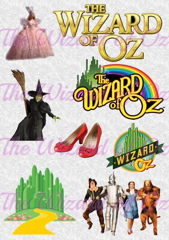 Check Out This Item In My Etsy Shop Https Www Etsy Com Listing 801542646 Wizard Of Oz Waterslide Png Perfect For Silhouette Stencil Wizard Of Oz Wizard