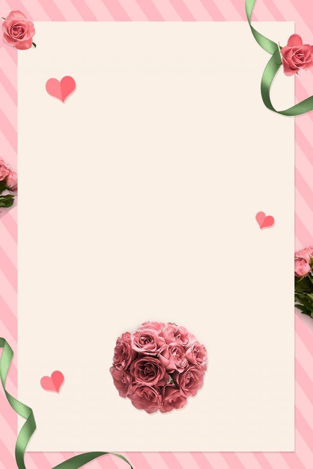 Kad Jemputan Perkahwinan Romantis Merah Jambu Wedding Invitations Romantic Pink Wedding Invitations Wedding Invitation Background