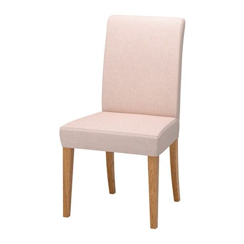 HENRIKSDAL Chair - Gunnared pale pink - IKEA