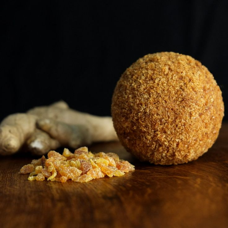 'Ginkgo' - Free range pork with fresh ginger, chives and apricots well seasoned with a generous dose of Chinese '5 spice' from The Handmade Scotch Egg Company