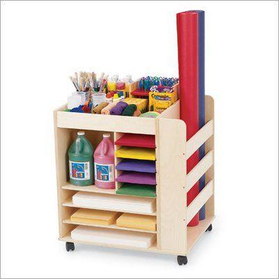Great Kid Craft Storage