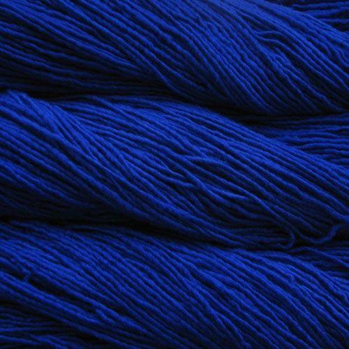 Malabrigo Azul Bolita worsted. That is one truly amazing blue.