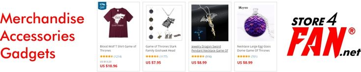 FREE worldwide delivery for Game Of Thrones fans