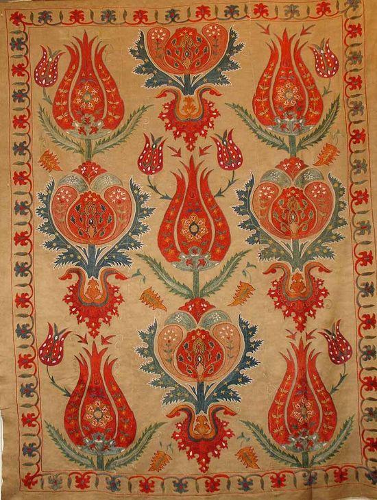 wonderful Ottoman style pattern & embroidery.