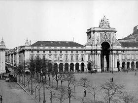 Praça do Comércio, 1907