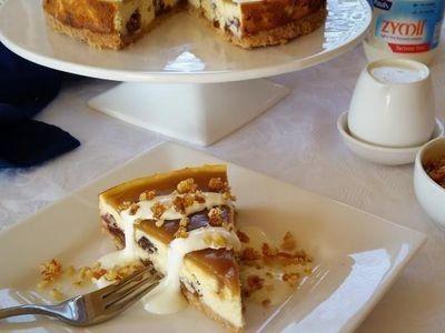 Sticky Date Ricotta Cheesecake recipe