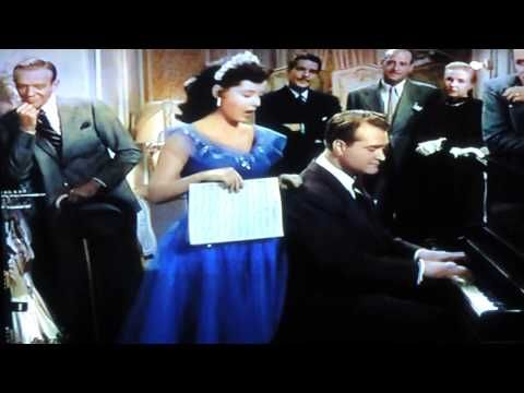 Gloria DeHaven Sings Who's Sorry Now...From The 1950's Movie Three Little Words