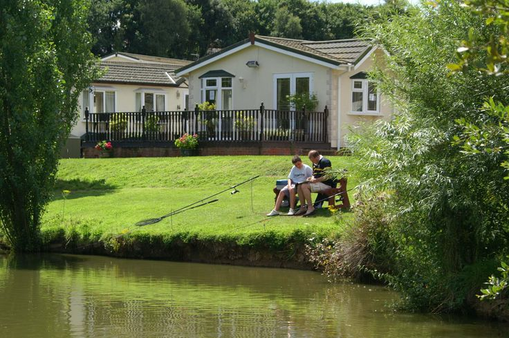Relax and enjoy a fishing holiday at hazelwood Holiday park Dawlish Warren, Devon