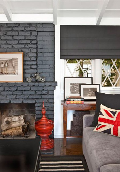 39 Best Images About Painted Stained Brick On Pinterest