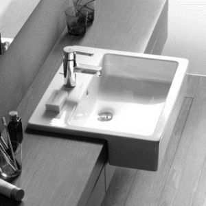Image result for villeroy and boch memento semi recessed basin