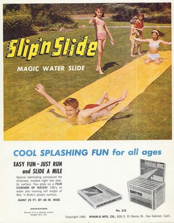 Slip and Slide- so much fun!: Remember, 70 S, Toy, Childhood Memories, 70S, Fun, Slip 'N Slide, Kid