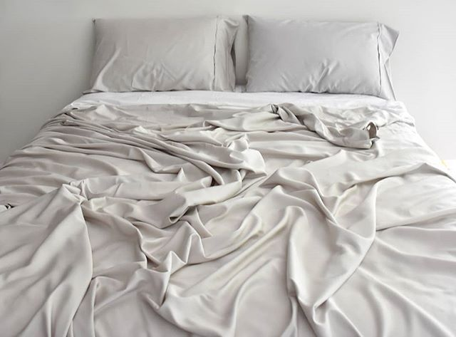 Smooooooth Like Butter Our Pure Bamboo Sheets In Silver Are Just