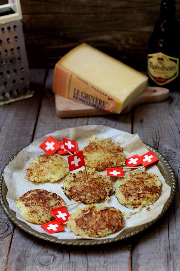 Rösti di patate e Gruyère