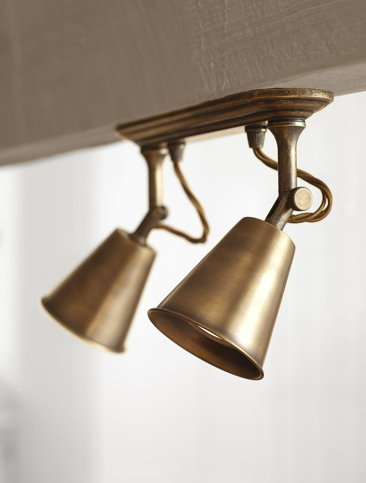 Double Curtis #Spotlight just sing in #Antiqued #Brass