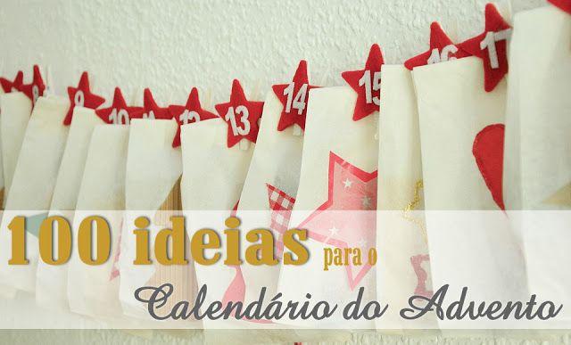 100 ideias para o calendário do advento