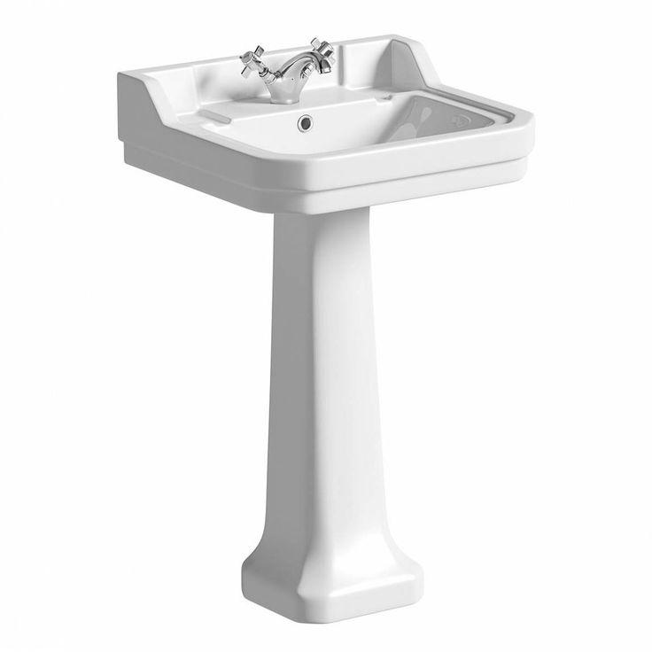 £79.99 Camberley 1TH Basin & Pedestal
