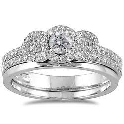 ..: Wedding, Salads Salads, Diamond, Rings, Engagement Ring, White Gold, 10K White
