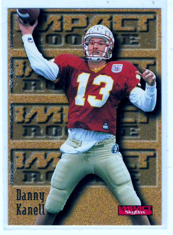 Football Trading Cards - 1996 Skybox Impact RC Danny Kanell