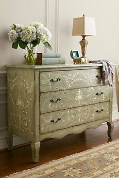 CECILIA THREE-DRAWER CHEST from Soft Surroundings