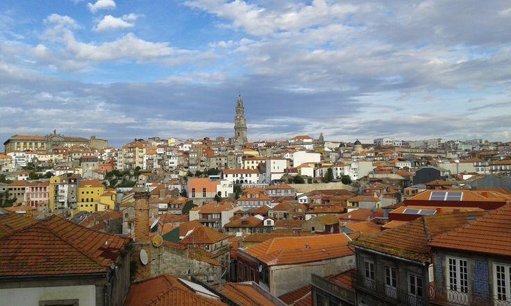 Vista da Torre dos Clérigos a partir da Sé por: Bruno Pedro