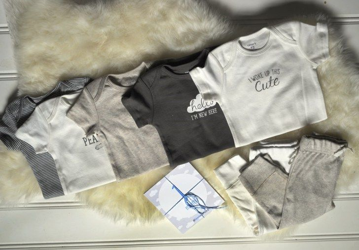 Whole line of greige baby clothes. If Joanna Gaines had another baby, I think he'd dress like this. Neutral and stylish baby boy clothes are so hard to find! #Littlebabybasics #ad