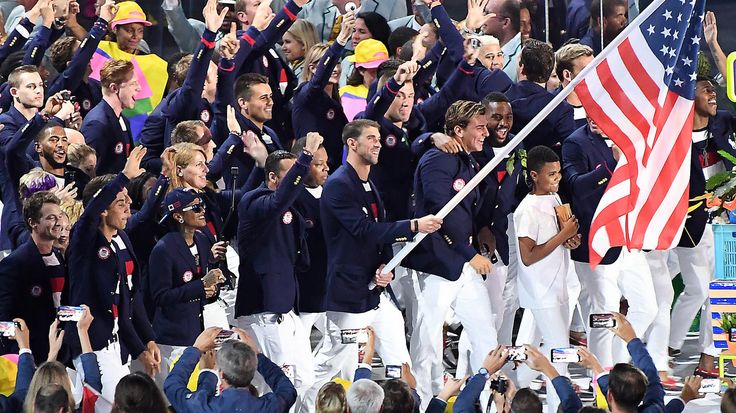 Rio Summer Olympics opening ceremony